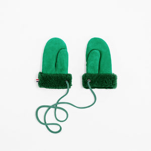 Mittens Kids - Emerald Green