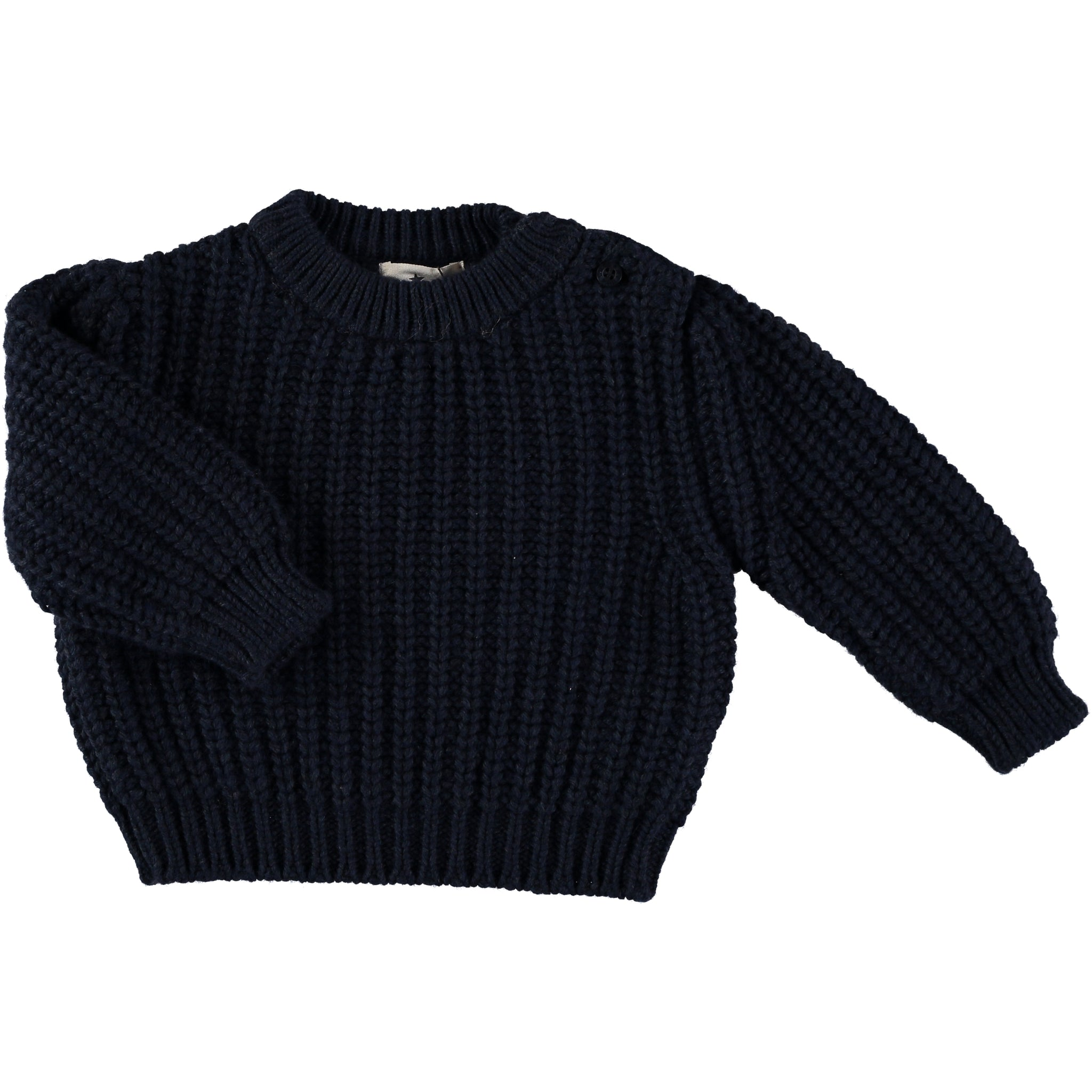 Jersey Baby Big Rib - Dark Blue