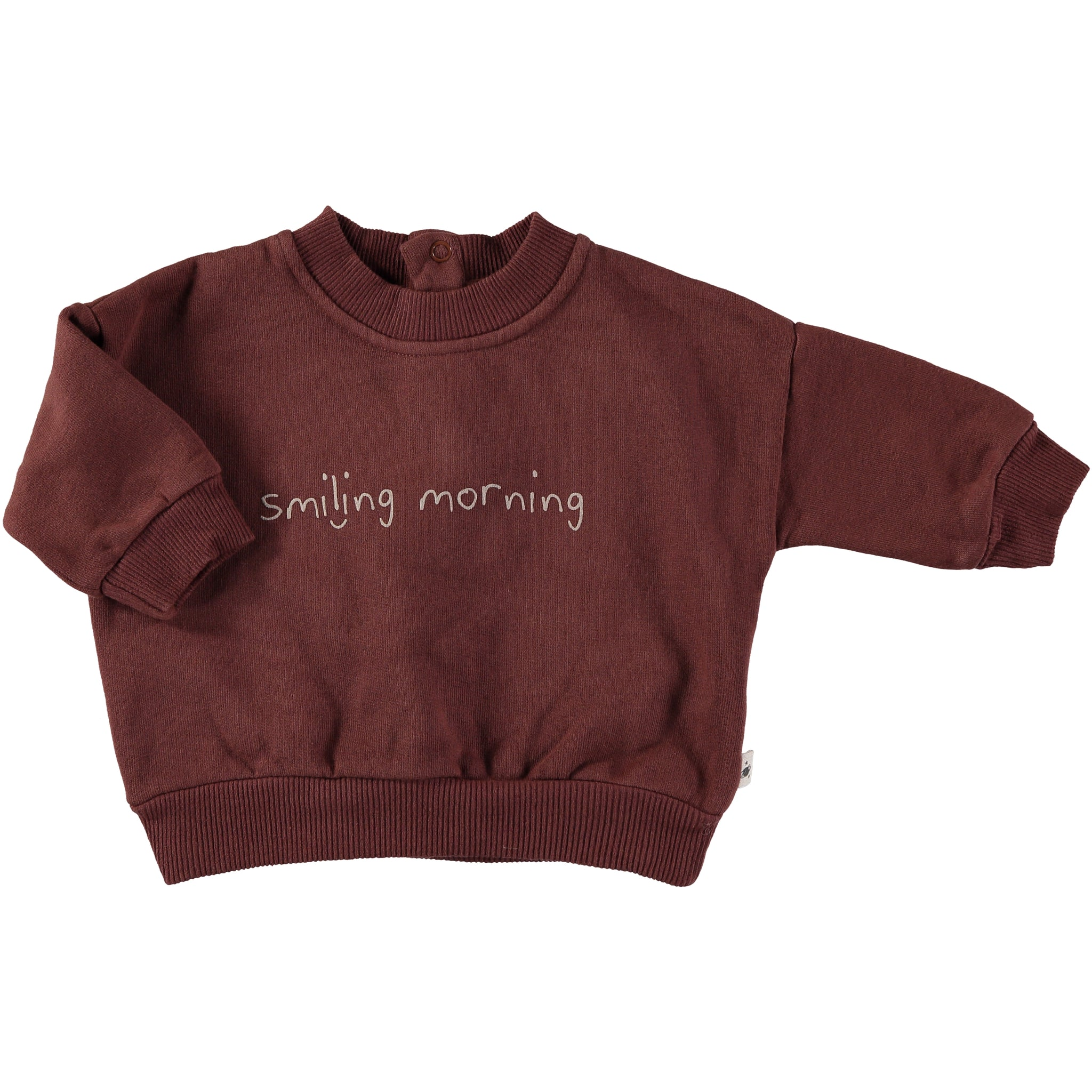 Sweatshirt Baby Plush - Wine
