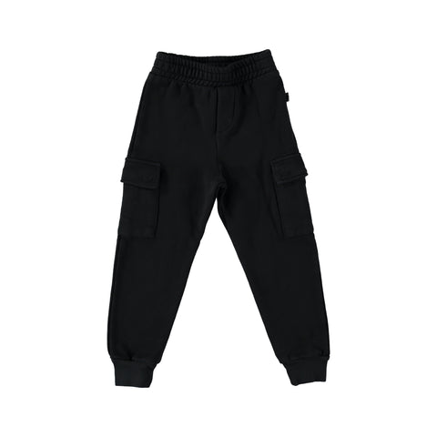 Trousers Kids Plush - Darkgrey
