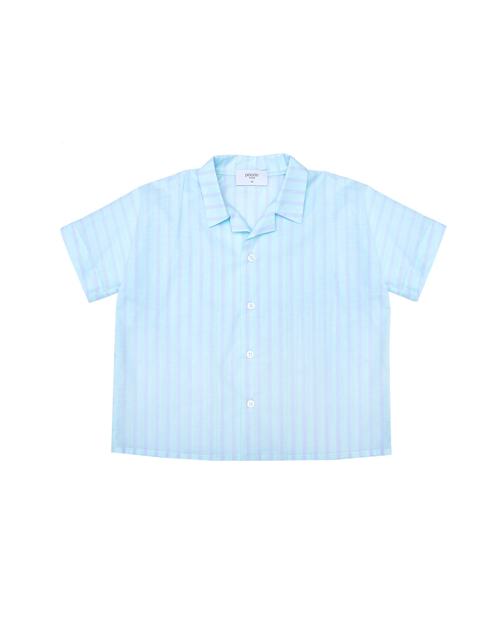 Cotton Shirt - Clover Blue