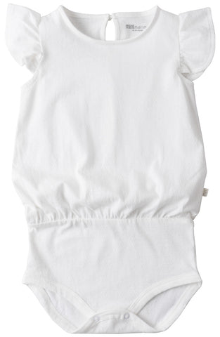 Pippi frill body - off white