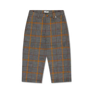 Check Pants - Grey Sunny Check