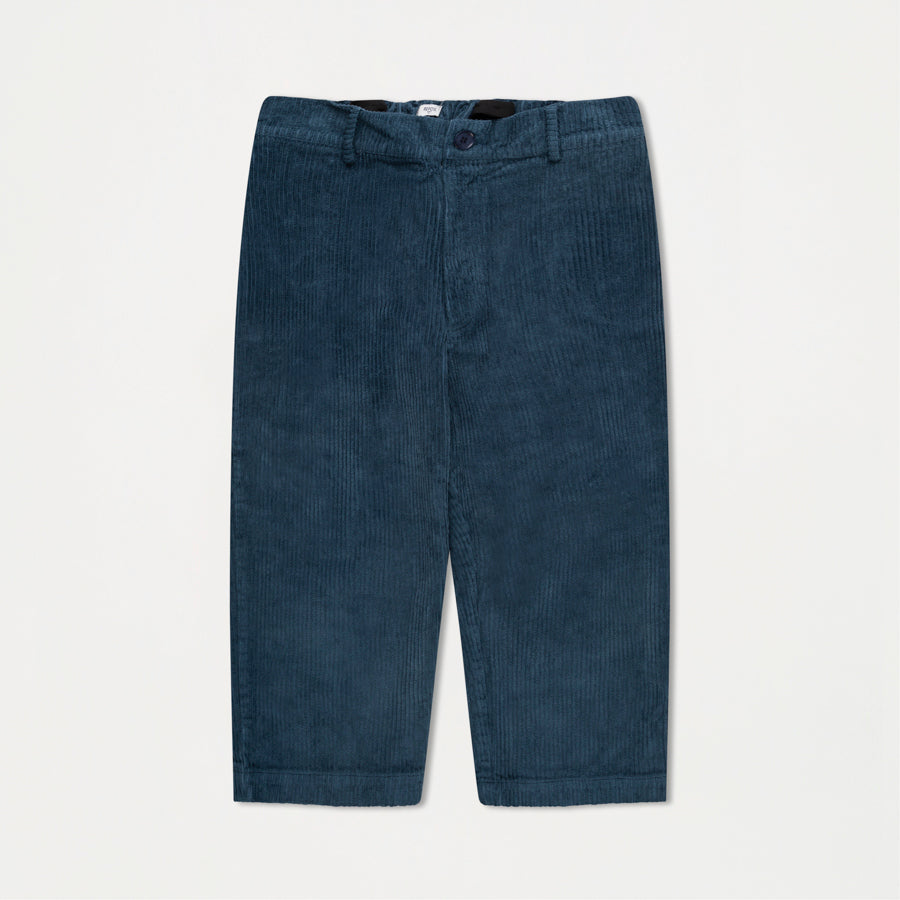 Cord Pants / Mid Stone Blue