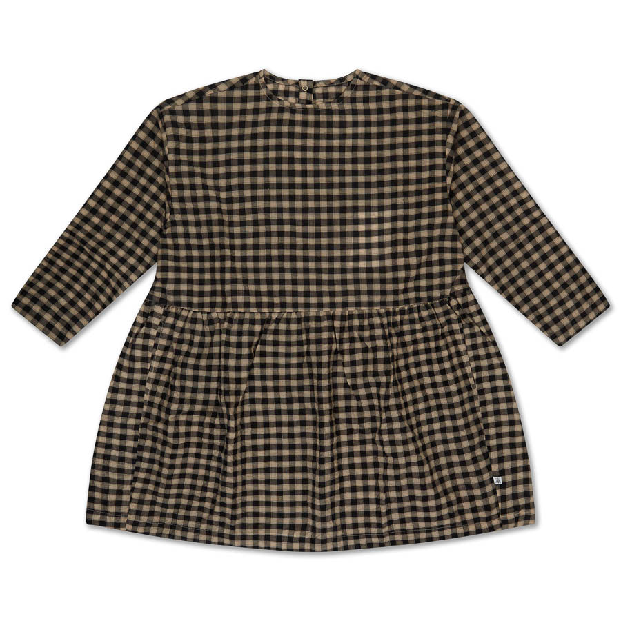 Twirl Dress - Noir bb Check