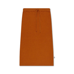 Knit Skirt - Warmed Rust