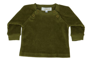 Sweater Scott Velvet - Avocado