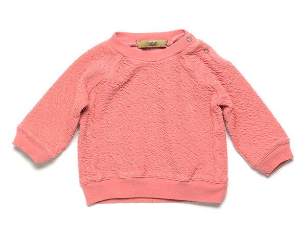 Silas Texture Sweater - lobster