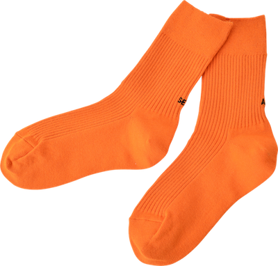 All set? socks // orange