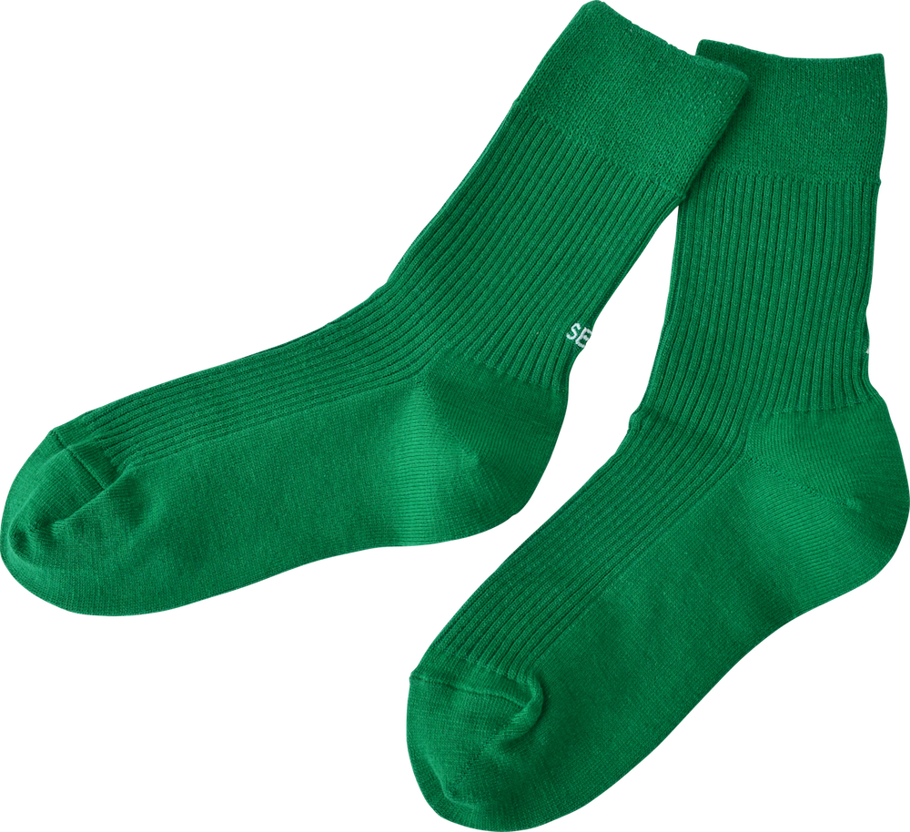 All set? socks // green