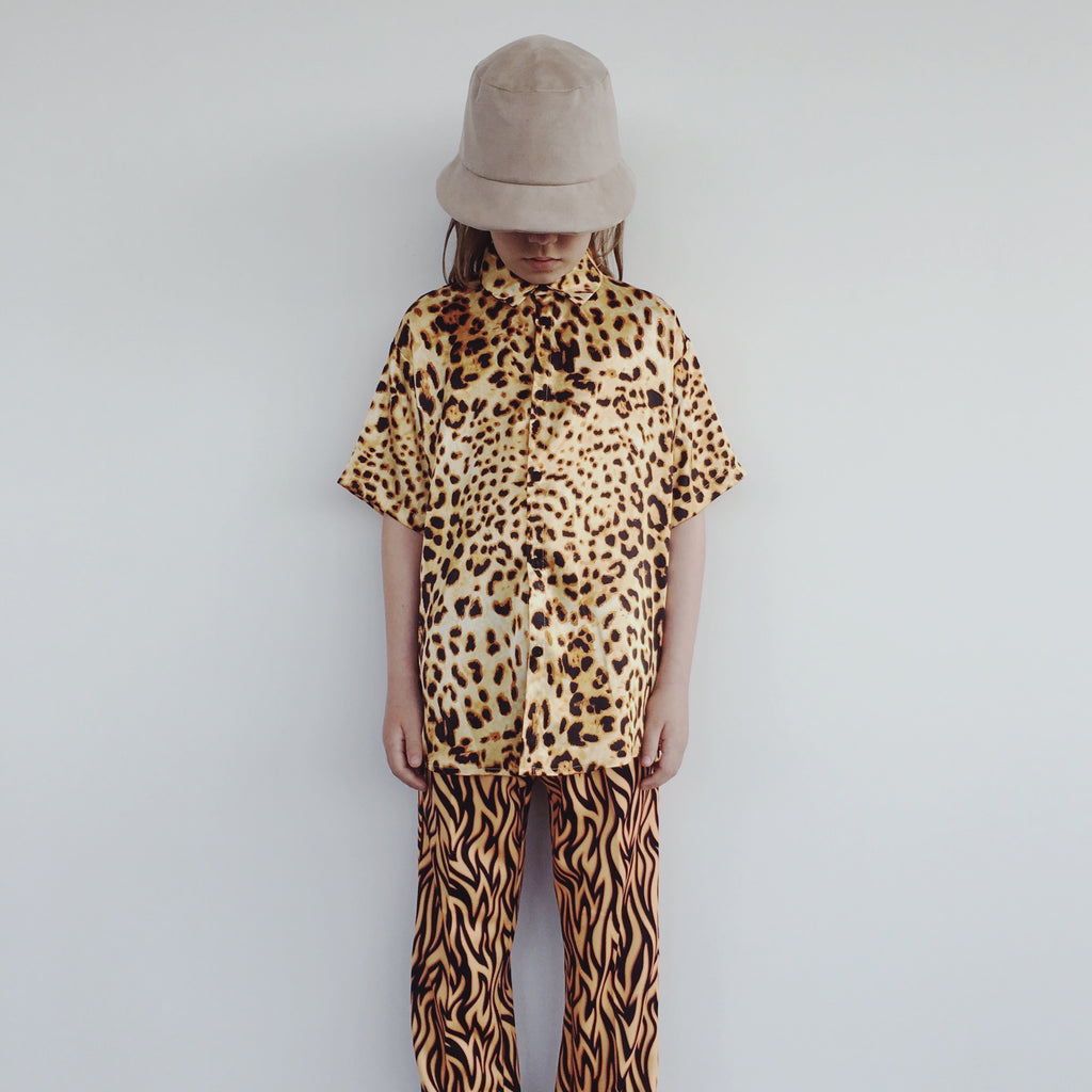 Short Sleeve Shirt - Leopard