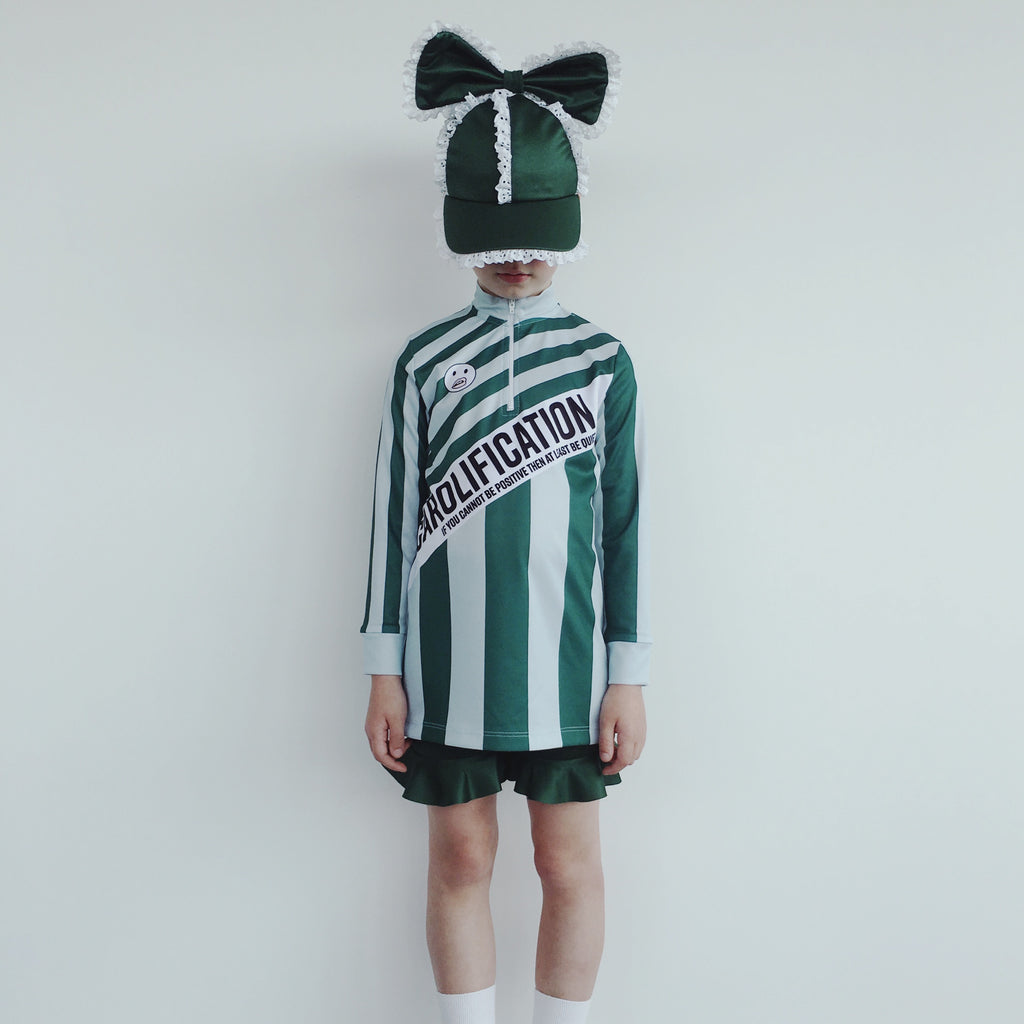 Soccer Mini Dress - Carolification Green Multiple Use