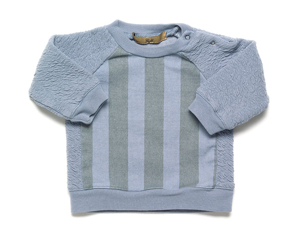 Strom Striped sweatshirt - misty