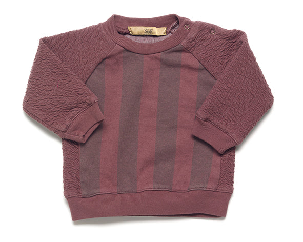 Strom Striped sweatshirt - raisin
