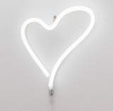 Neon Love medium - cool white