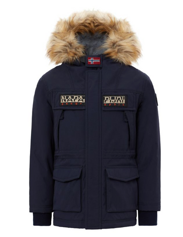 Skidoo jacket open - dark blue