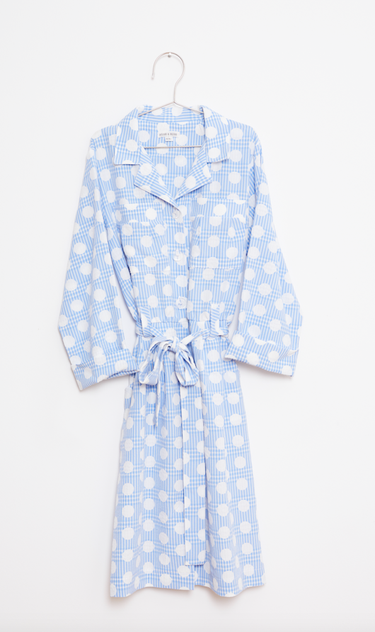Dots Dress - Blue
