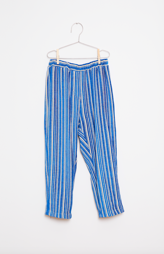Stripes Pants - Blue