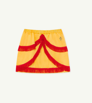Bird Skirt - Yellow