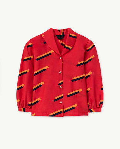 Red Gadfly Kids Shirt - Red 80'S