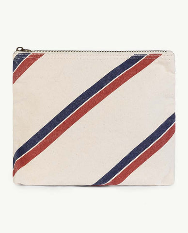 Onesize Pouch - White Stripes