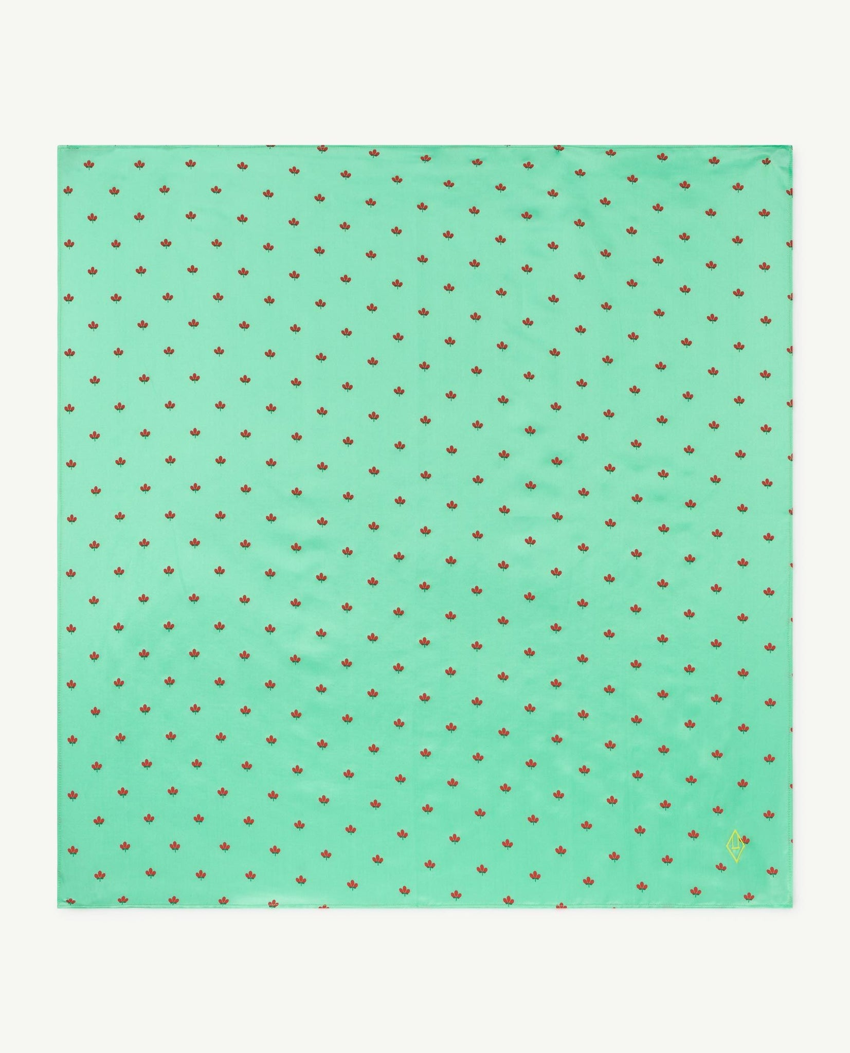 Ray Silky Scarf - Green