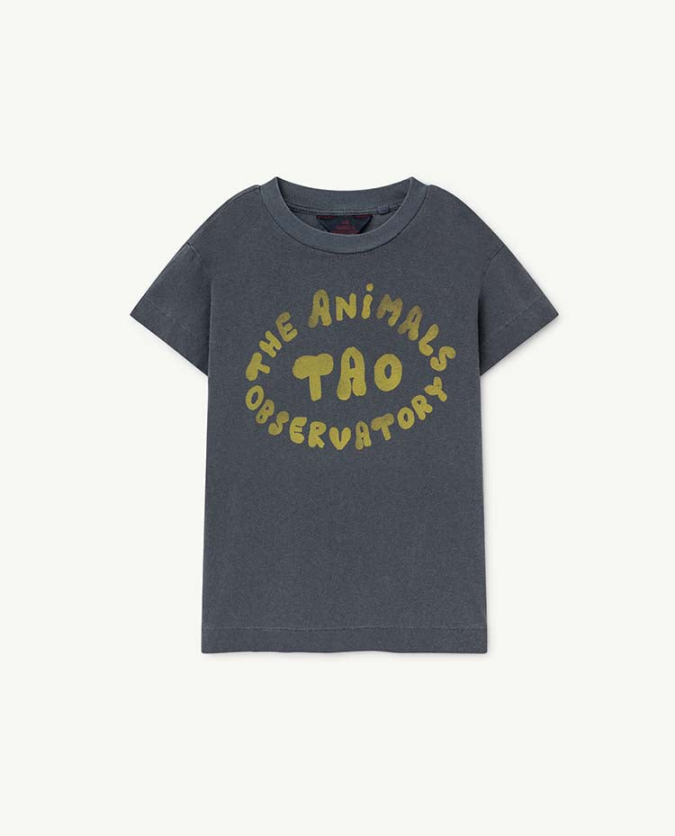 Rooster Kids T-Shirt - Blue The Animals