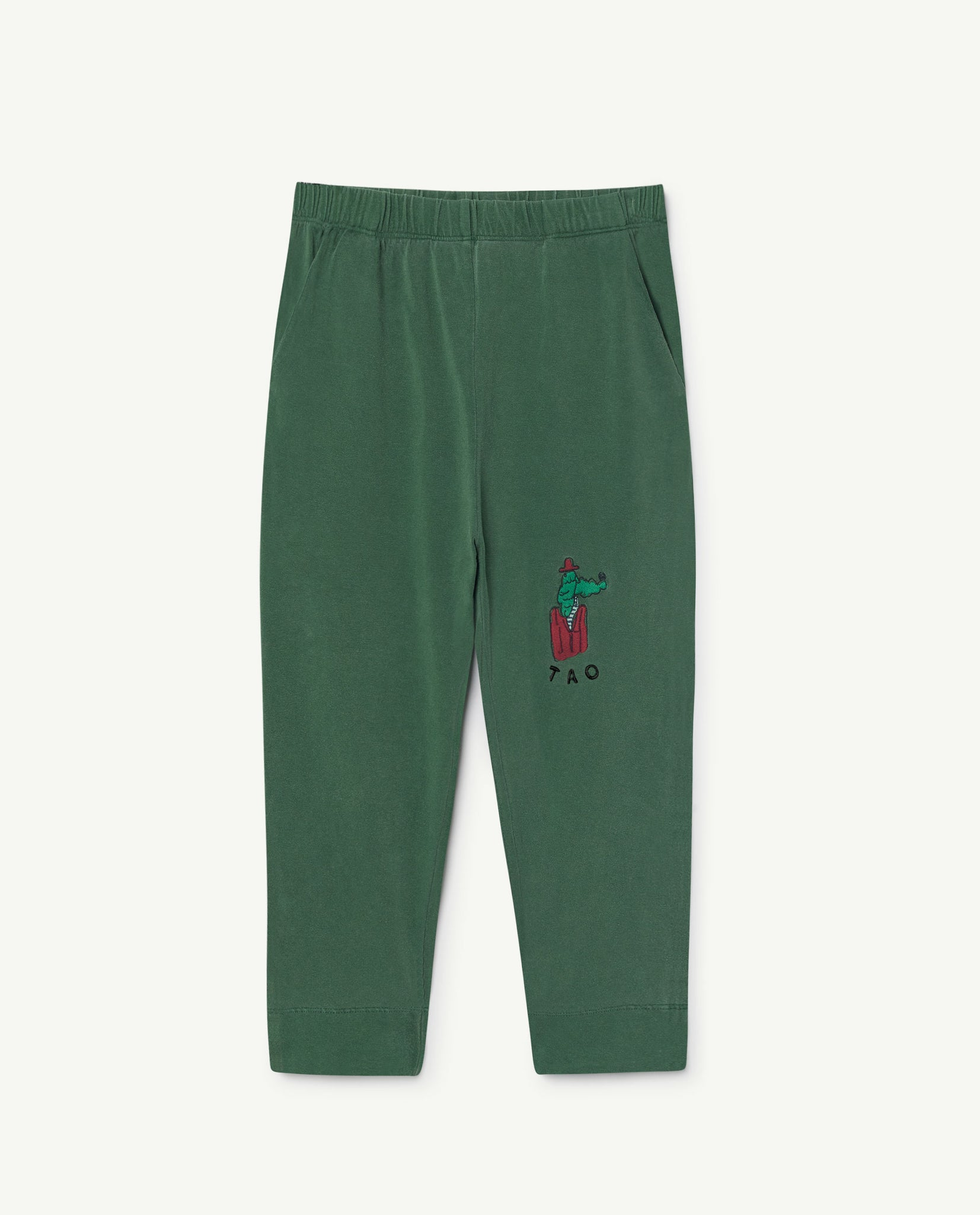 Rhino kids pants - green white bomar