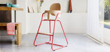 Tibu high chair - bright red - KID - 2