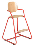 Tibu high chair - bright red - KID - 6
