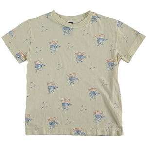 T-Shirt Classic Small Woodpekers - Ivory