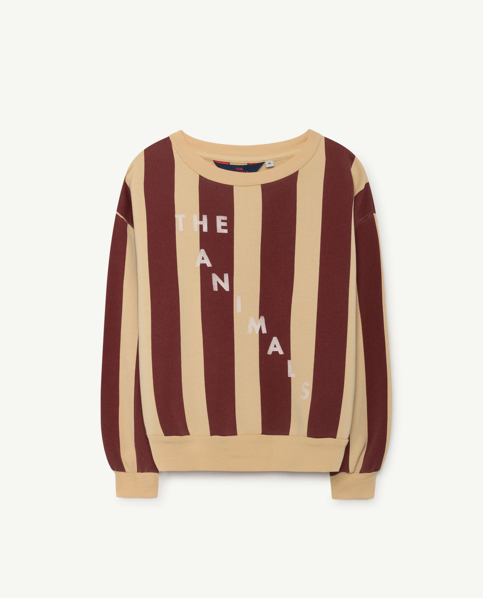 Bear kids sweatshirt - yellow/maroon