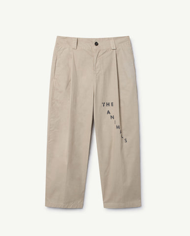Camel kids pants - beige
