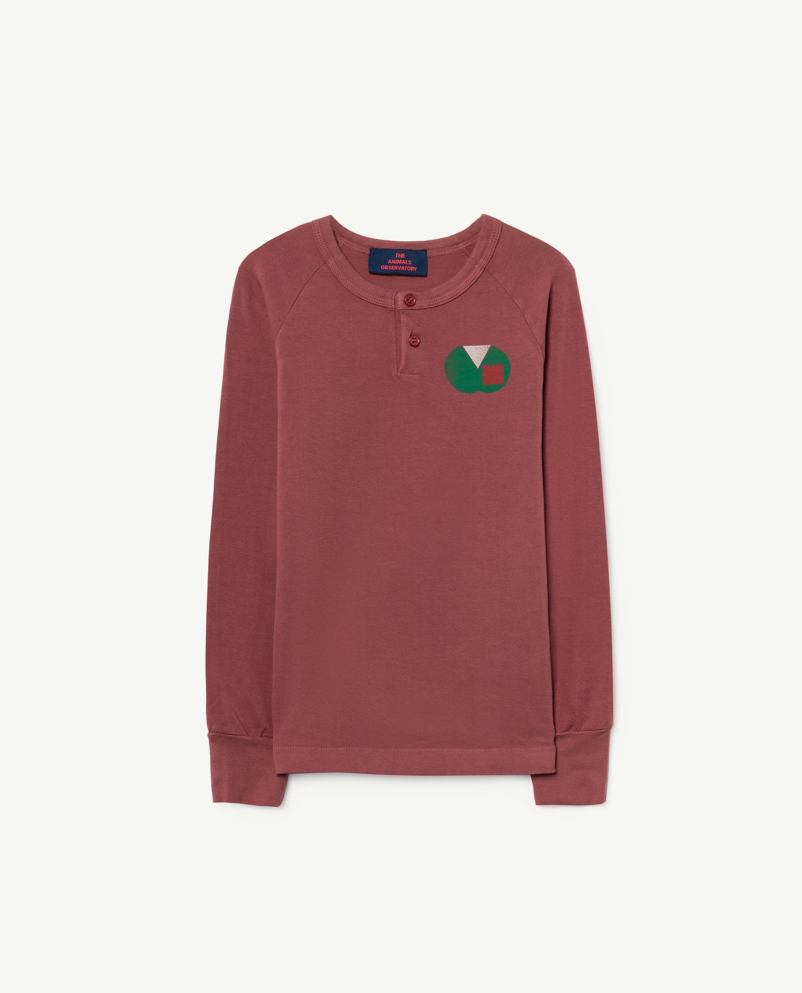 Deer kids T-tshirt - maroon apple