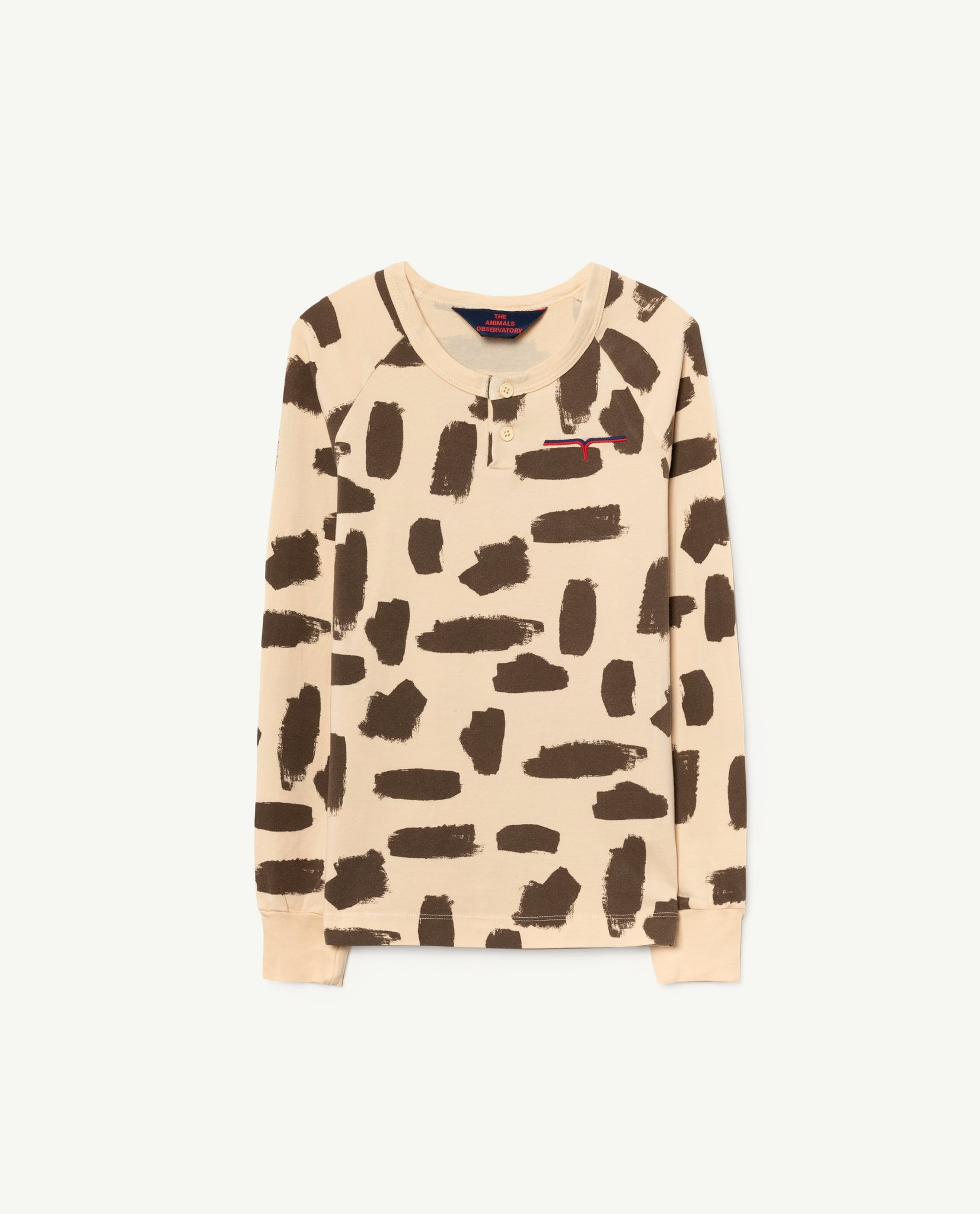 Deer kids T-tshirt - yellow leopard