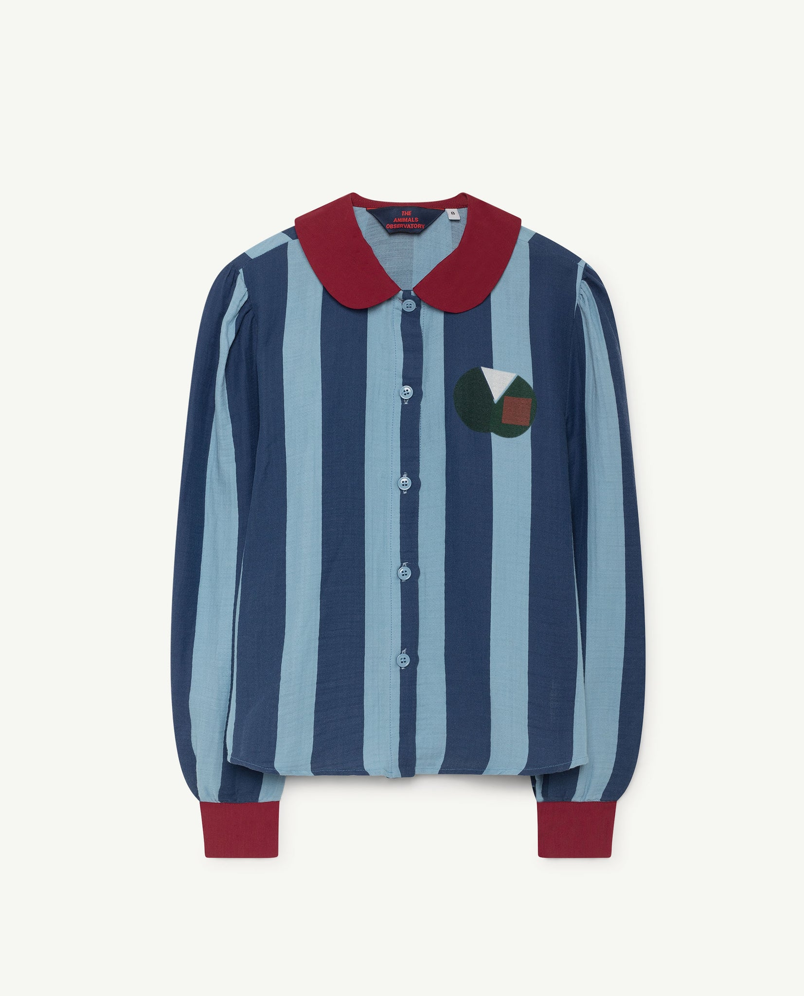 Kangaroo kids shirt - blue stripe