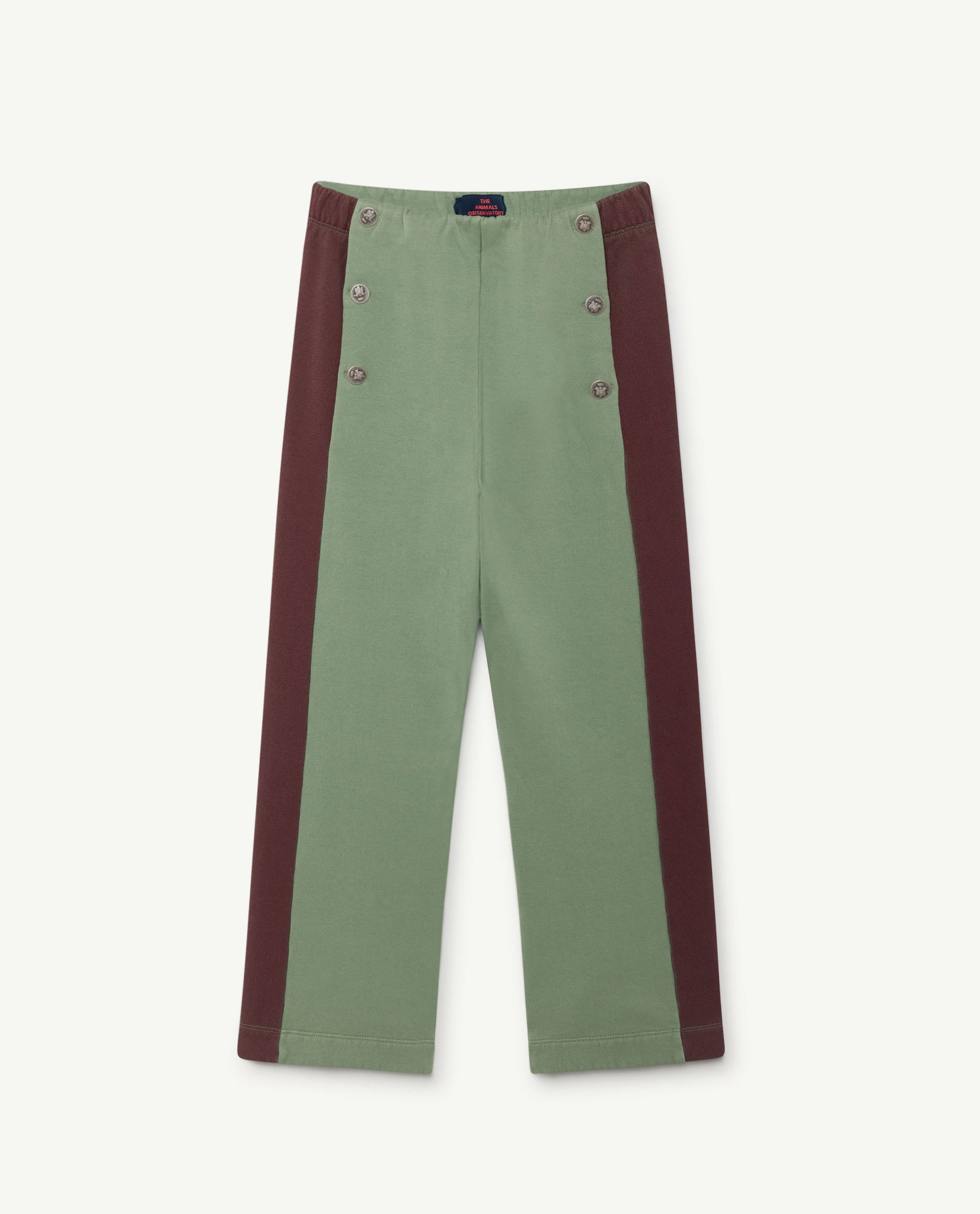 Magpie kids pants - grey/red