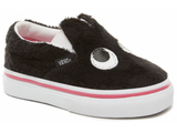 Party Fur Slip-On - Black