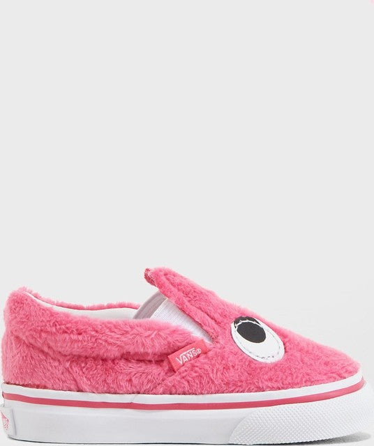 Party Fur Slip-On - Magenta