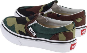 Woodland slip on - Camo