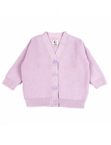 Shane Cardigan - Cotton Candy Lilac