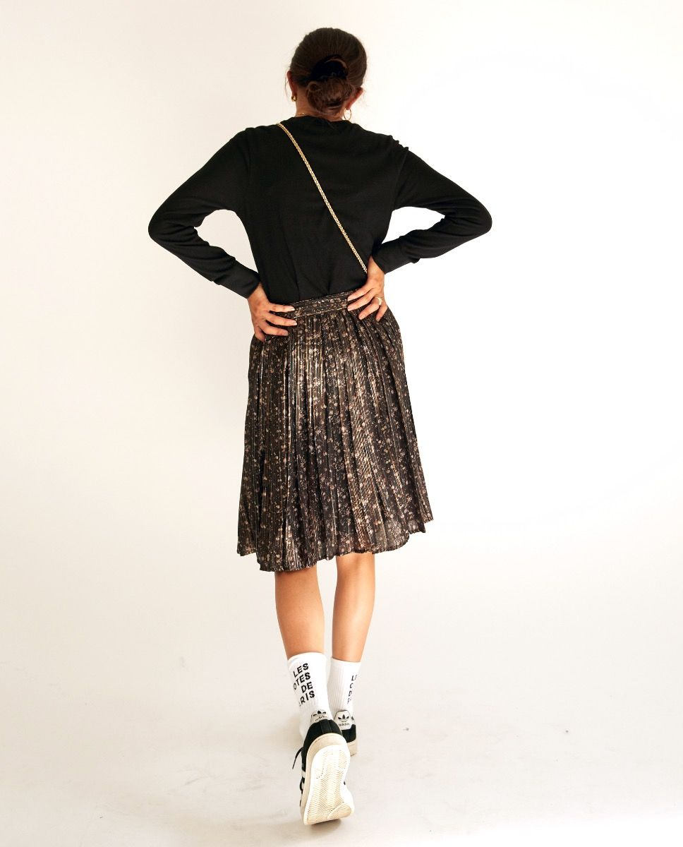 Delphin skirt - Golden Lurex