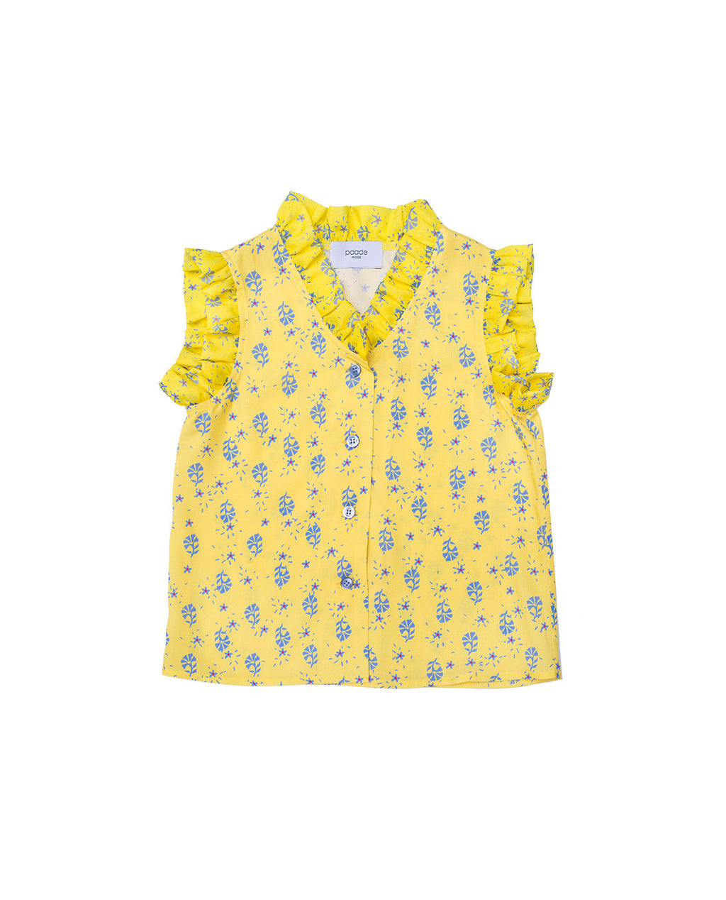 Viscose Blouse Viola - Yellow
