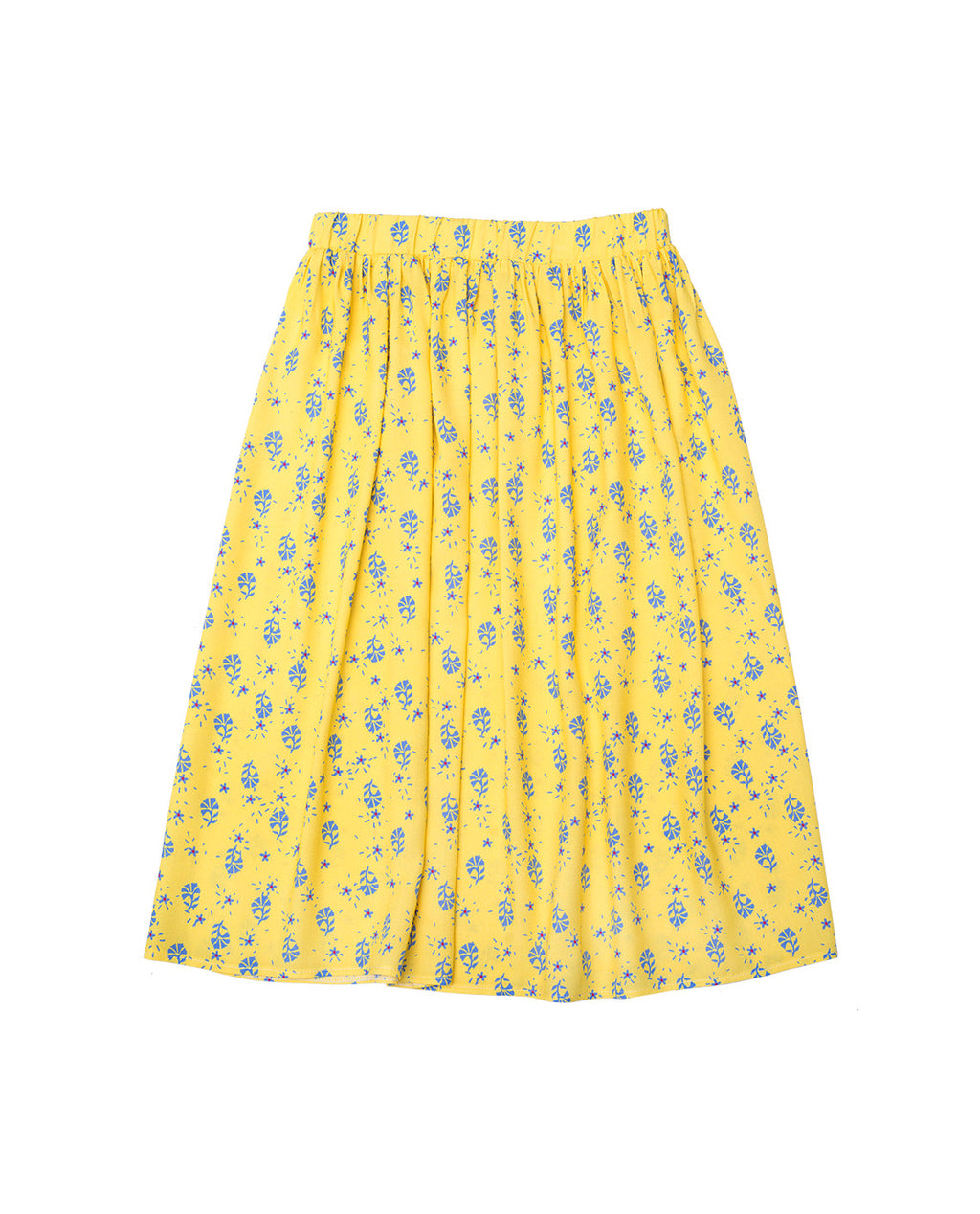 Viscose Skirt -Viola Yellow