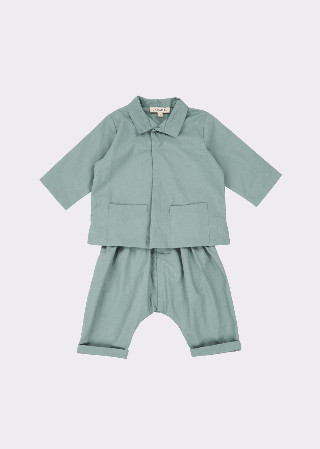 Hyde Park Baby Set - Stone Grey