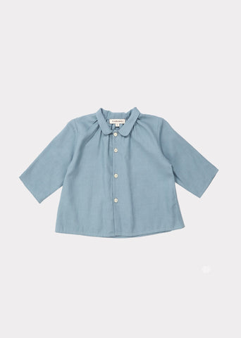 Icarus Baby Shirt - Forget me not