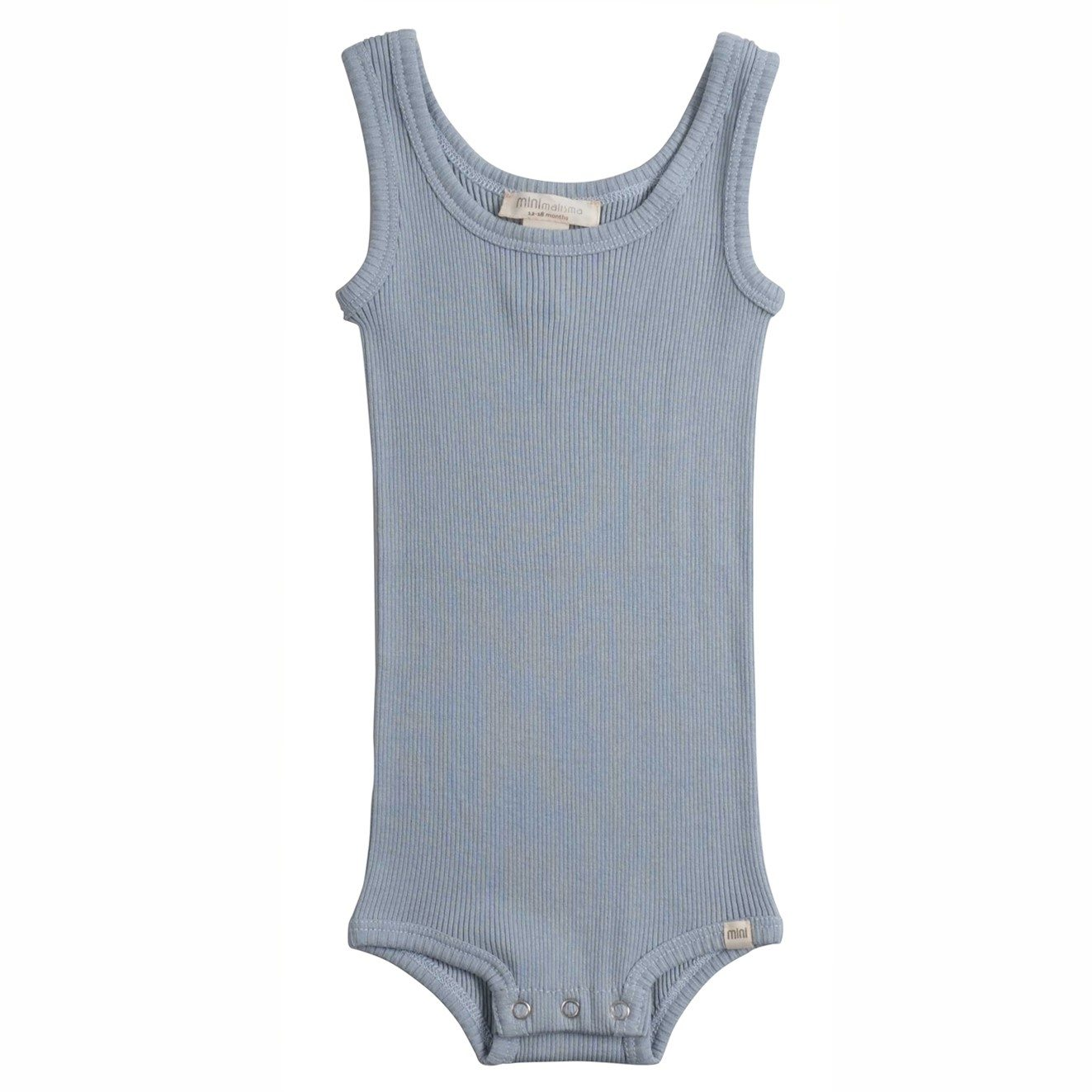 Tank-top body bornholm - fog blue