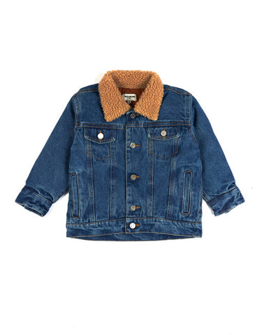 Peggy Denim Jacket - Washed Blue Denim