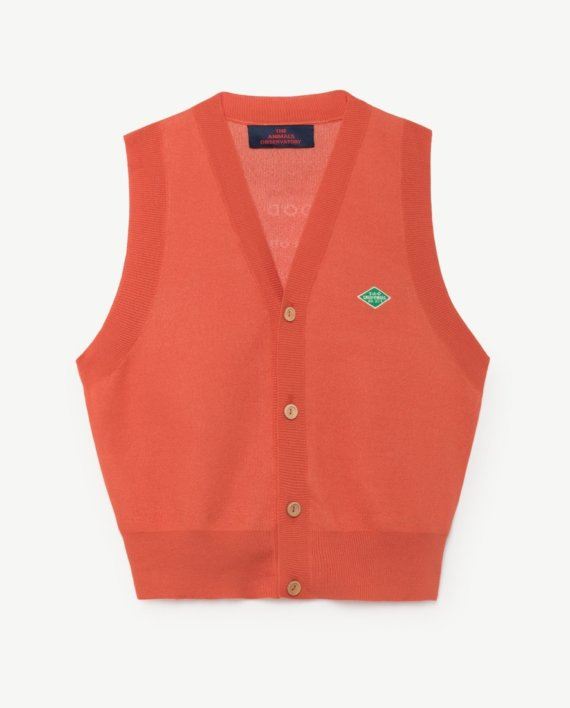 Blacksmith kids vest - red tao uniforms