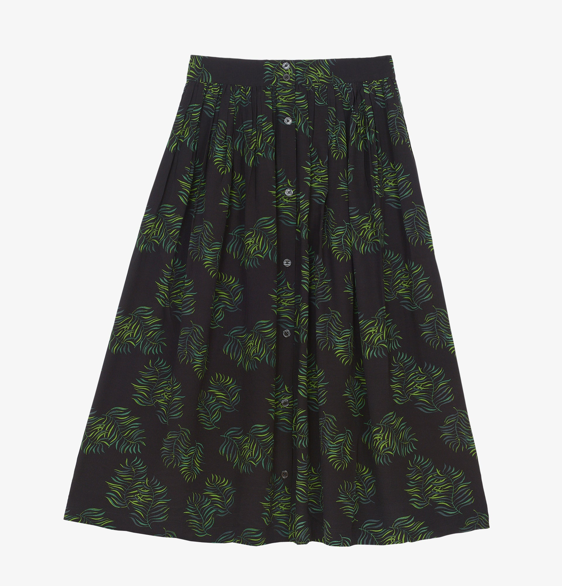 Skirt Eugene // palm print